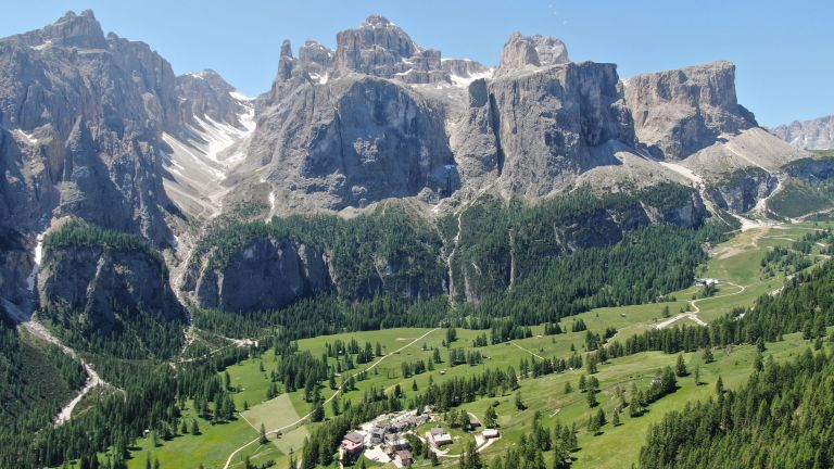 Hotel Guest House Pcei in Colfosco, Alta Badia, Dolomites  logo
